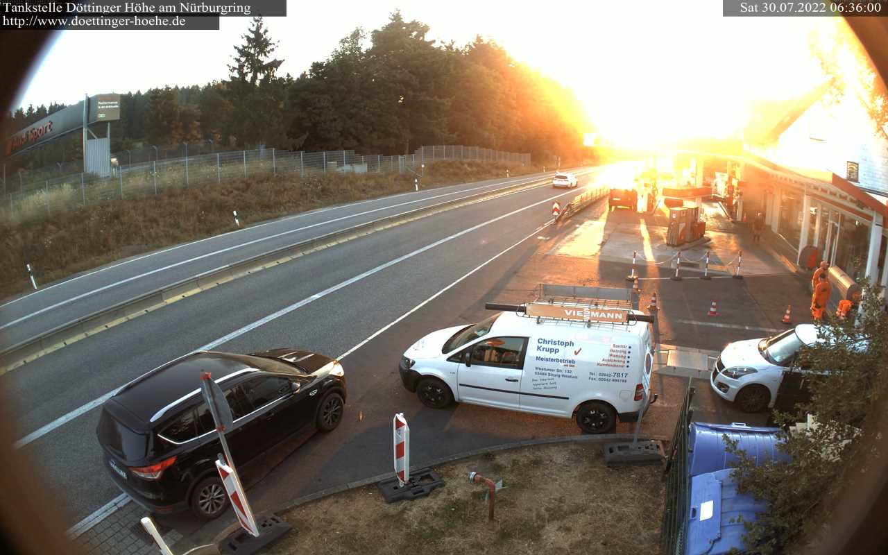 WebCam Tankstelle Dttinger Hhe